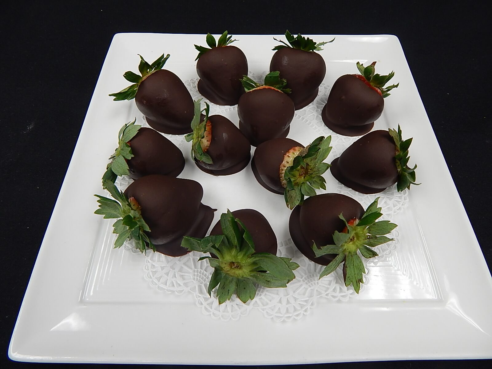 Chocolate dipped strawberries gf the living room for Living room 101 atlantic ave boston